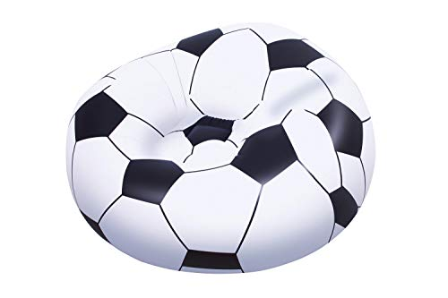Up In & Over Beanless Soccer Ball Chair 114x112x66 cm, Fußball-Luftsessel