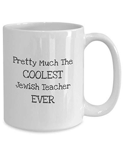 Jewish Teacher Coffee Mug Coolest Jewish Teacher Ever