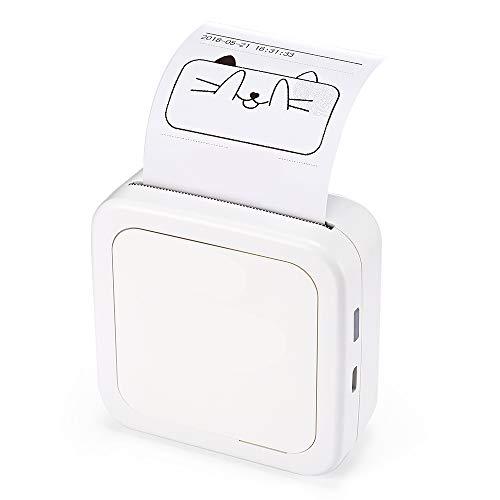 le Drucker Fotodrucker Für Smartphone Pocket Mini Aufkleber Thermodrucker USB Micro Connector ()