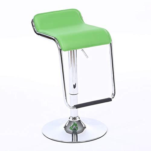 Silla de la barra de elevación, silla moderna de la barra Silla alta de la silla de la silla de la caja registradora de la silla del taburete de la recepción del pie del taburete del pie alto de la si