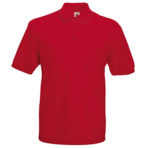 65/35 Pocket Polo - Farbe: Red - Größe: 3XL - Corporate Shirt
