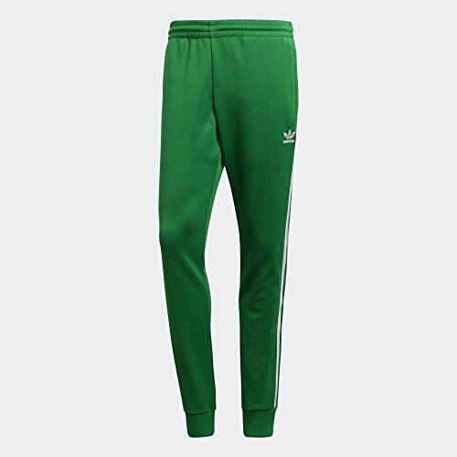 Adidas SST TP - Pantalón, Hombre, Verde(VERDE)
