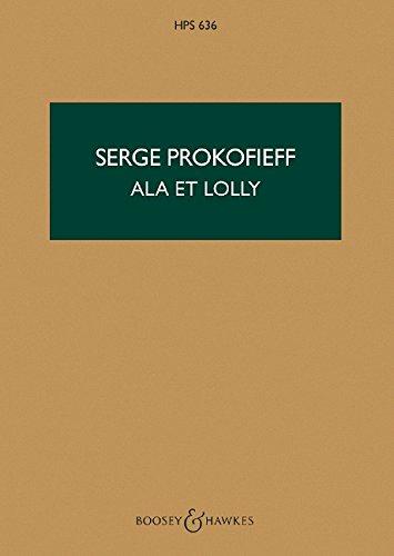 Scythian Suite: Ala et Lolly. op. 20. Orchester. Studienpartitur. (Hawkes Pocket Scores) -