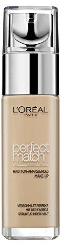 L'Oréal Paris Perfect Match in 2R/2C Rose Vanilla, flüssiges Make-up, verschmilzt perfekt mit dem Hautton für einen absolut natürlichen Teint, 30 ml
