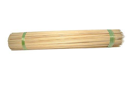 Bellaflor Splittstäbe Naturweide 50 cm/Ø 5 mm 100 Stück Bambus Blumen