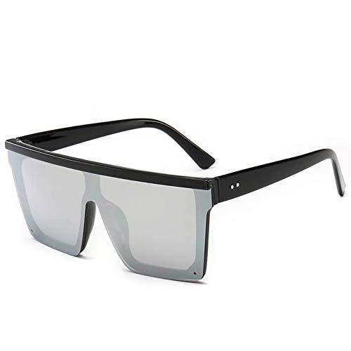 ZHENCHENYZ Sonnenbrille Frauen Übergroße Transparente Sonnenbrille Designer Männer Vintage Flat Top Eyewear UV400