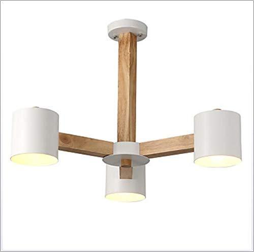 Hai Ying ♪ * 3-Light Candle-Style Kronleuchter Downlight Holz Holz/Bambus LED 220-240V / 100-120V Lampe Nicht im Lieferumfang enthalten / E26 / E27,220~240V ♪ - Pro Style Wärmer