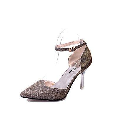 Moda Donna Sandali Sexy donna tacchi Primavera / Estate / Autunno sintetico piattaforma Party & Sera / Casual Stiletto Heel nero / viola / bianco / oro Gold