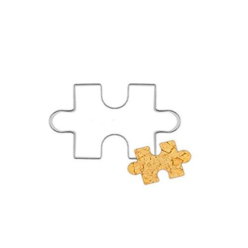 dragonaur Puzzle Form Edelstahl Cookie Kuchen Cutter Fondant Form Werkzeug -
