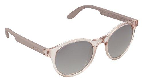 Carrera Unisex-Erwachsene 5029/S Ic Sonnenbrille, Transparent Pink Mauve/Grey Silver Mirror Shaded, 49