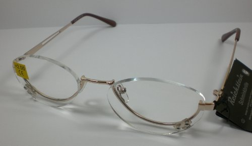 Schminkbrille Lesebrille Make Up-Brille 2,0 - 3,5 Diop. Schminkhilfe + 3,5 Dioptrien