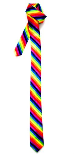 Skinny Tie - Rainbow