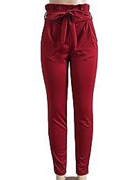 Amazon.es  Pantalones De Vestir Para Dama - Mujer  Ropa 114657c53f77