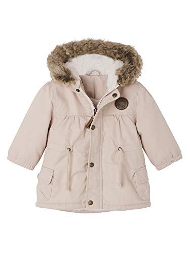 Vertbaudet Kuschelige Winterjacke für Baby Mädchen zartrosa 68