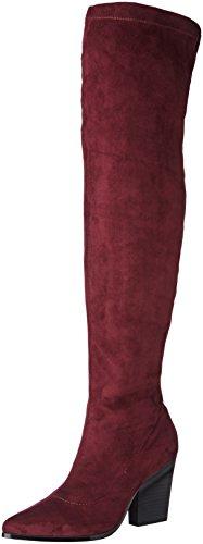 Buffalo Shoes B274A 192, Bottes Hautes Femme, Rouge (Burgundy 01/S0002J Imi), 36 EU