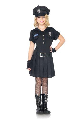 Polizei Avenue Kostüm Leg (Leg Avenue C48171 - Playtime Police Kostüm Set, Größe M,)