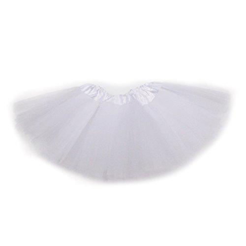 Dreamdanceworks Baby Mädchen (0-24 Monate) Rock Weiß weiß