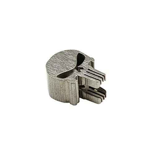 yard Perlen für Messer Zipper Pull Schmuck Taschenlampe Knuckles Armband Halskette Parachute Schnur Perlen Lanyard Perlen Anhänger (Schädel) ()