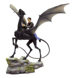 Harry Potter sur Thestral Statue Gentle Giant