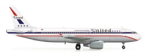 herpa-modellino-aereo-united-airlines-airbus-a320-85th-anniversary-friend-ship