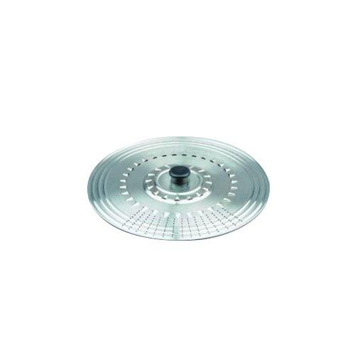 Ibili Prisma - Tapa multiuso, inox,  22-24-26 cm