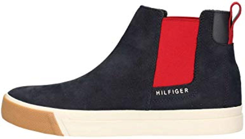 Tommy Hilfiger scarpe da ginnastica Uomo FM0FM01835 Nubuck Chelsea Chelsea Chelsea Blu | Exquisite (medio) lavorazione  | Uomo/Donne Scarpa  ab07d3