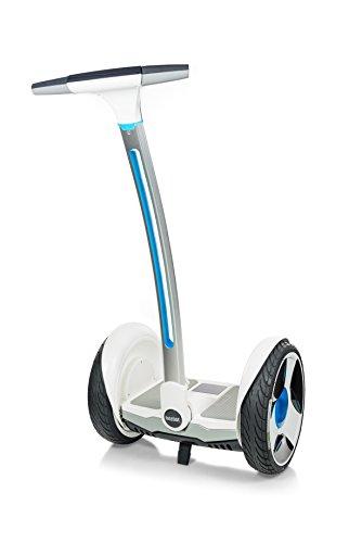 Ninebot by selbstbalancierender und +, Scooter Elektro Unisex Erwachsene M Bianco