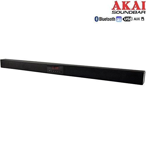 Akai Soundbar01Barra audio Bluetooth usato  Spedito ovunque in Italia