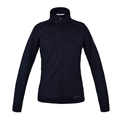 Kingsland Terra Damen Funktions-Fleece Jacke Marine Earth Collection HW 18/19, Kin18_19_Gr.:M
