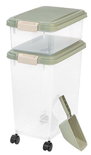 Iris 3piezas hermético contenedor de comida para mascotas Combo