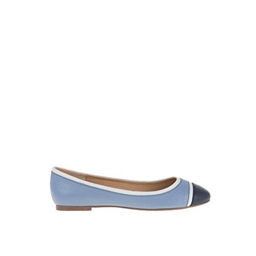 Parfois - Ballerine Tricolor - Donne - Taglie 35 - Blu Claro