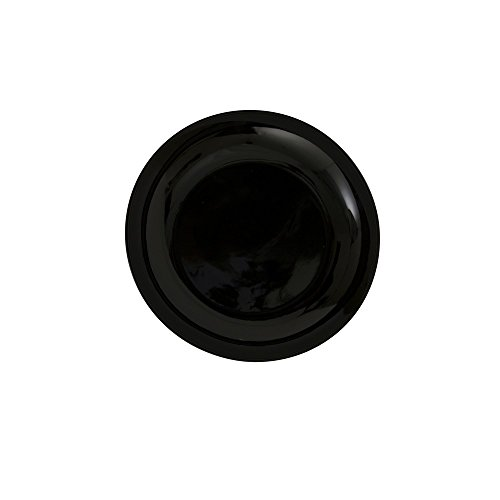 10 Strawberry Street BCP00056 Coupe Bread & Butter Plate, Set of 6, Black by 10 Strawberry Street Black Bread Butter Plate