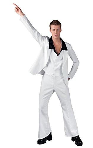 Kostüme Fever Dress Disco Fancy (Boland 83537 - Erwachsenenkostüm Disco fever,)