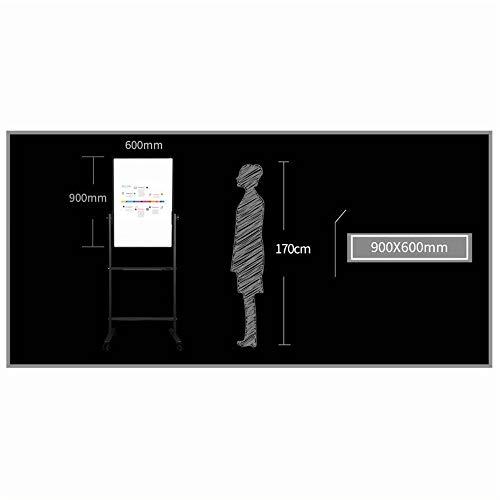 Cavalletto per lavagna bianca H-supporto Con rotella universale Whiteboard fronte-retro magnetico mobile Dimostrativi, universale della scheda di presentazione for gli uffici, Insegnanti, Case Cavalle