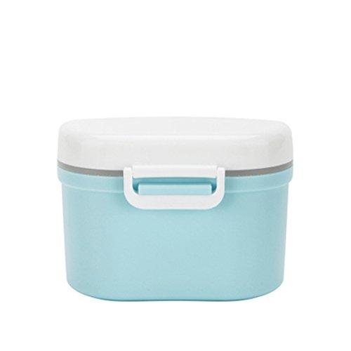 Luftdichte Milchpulver-Spender -Large Capacity Portable Baby Milch Pulver Box Milch- Pulver Raster Snack Container-Kann im Mikrowellen kühlschrank verwendet werden (Milchpulver-box)