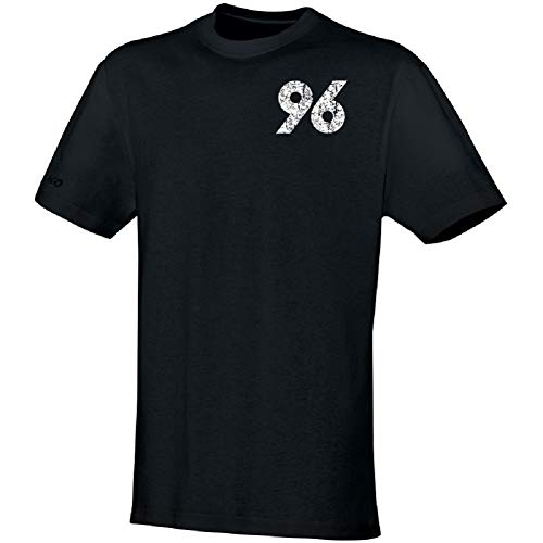 Unbekannt Hannover 96 Jako Replika T-Shirt (S, Schwarz)