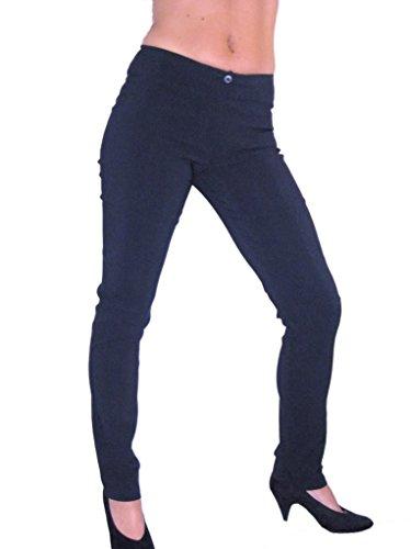 ICE Damen Hose Skinny Blau