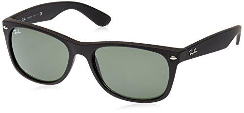 Ray-Ban Unisex-Erwachsene Sonnenbrille Rb 2132, Matte Black, 58