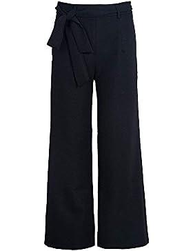 Pantalon Anchos Mujer Primavera Otoño 7/8 Pantalones Elegantes Casual Joven Bastante Pantalones Elasticos Mujer...