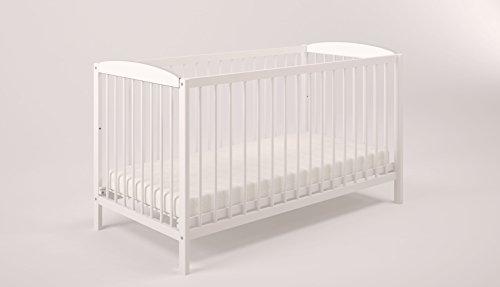 Polini Kids 0003022-04 Simple Collection 101 Babybett, weiß