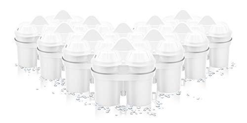 BWT - 814520 - Filterkartusche Magnesium Mineralized Water - Jahresvorrat Kartuschen für Tischwasserfilter PENGUIN, SLIM und VIDA - 12 Stück im Set