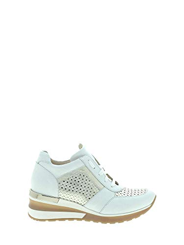 Exton e08 sneakers donna bianco 39