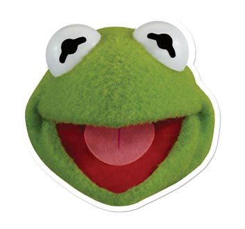 The Muppets Kermit Party-Maske