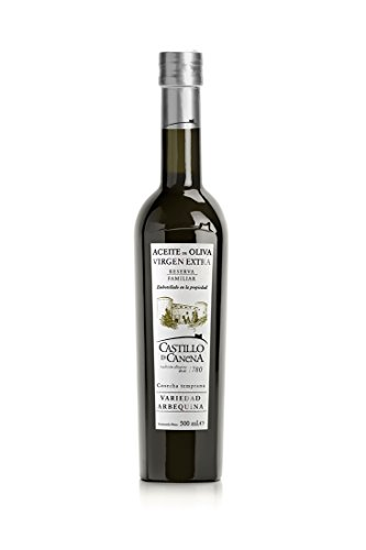 Castillo de Cañena Reserva Familiar Arbequina Prämiertes spanisches Natives Olivenöl Extra 500 ml