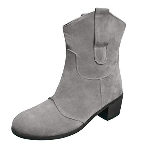 Xinantime Zapatos Mujer Botines Mujer Tacon Medio