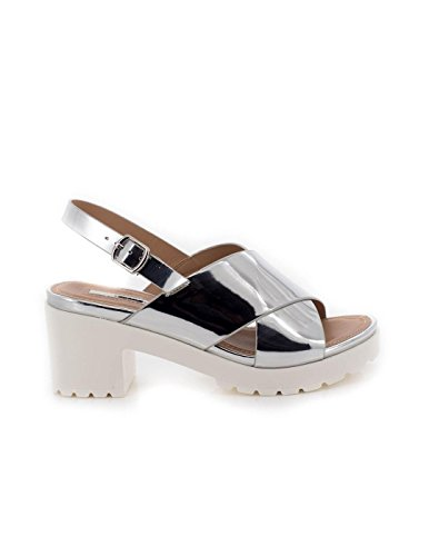 MTNG Collection Donna Plexy Sandali argento Size: 37 EU