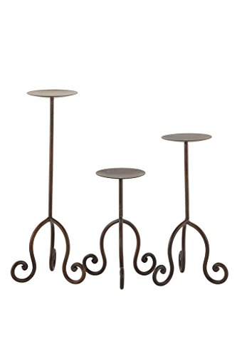 CANDLE STAND IRON-LARGE