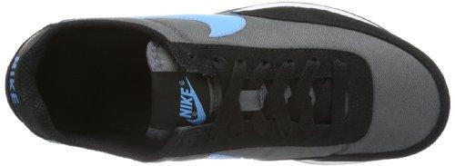 Nike Elite (Gs) 418720 Jungen Low-Top Sneaker Mehrfarbig (Black/Grey/Blue 032)