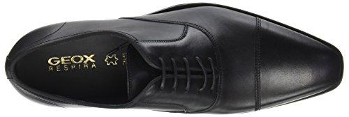 Chaussures Geox Noir Black À Homme Lacets U New Life E Ruirq Debit