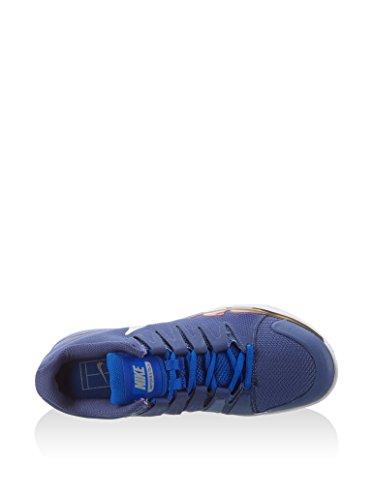 Nike Court Zoom Vapor 9.5 Tour, Chaussures de Tennis femme Violet - Morado (Dk Prpl Dst / Mtllc Slvr-Rcr Bl)